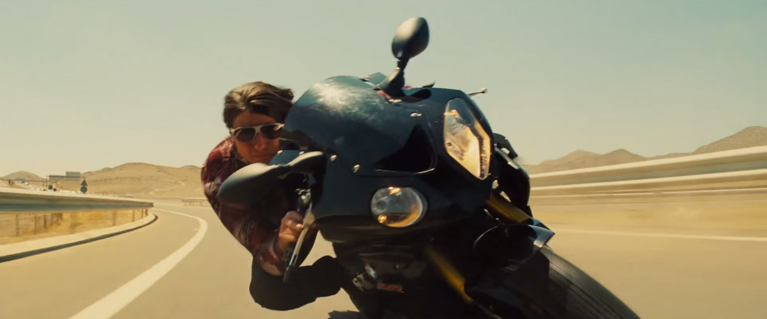 Zonnebril Tom Cruise in Mission Impossible: Rogue Nation (2015)