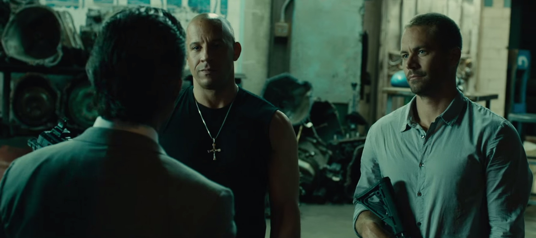 Ketting Vin Diesel in Furious 7 (2015)