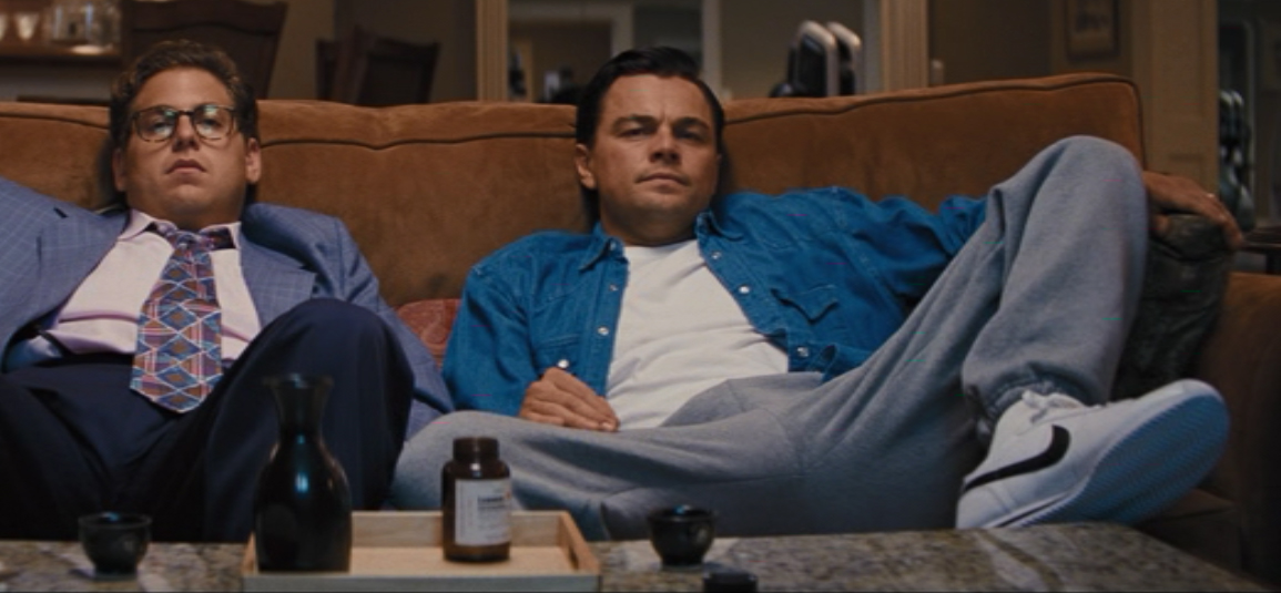 Nike schoenen Leonardo DiCaprio in The Wolf of Wall Street (2013)