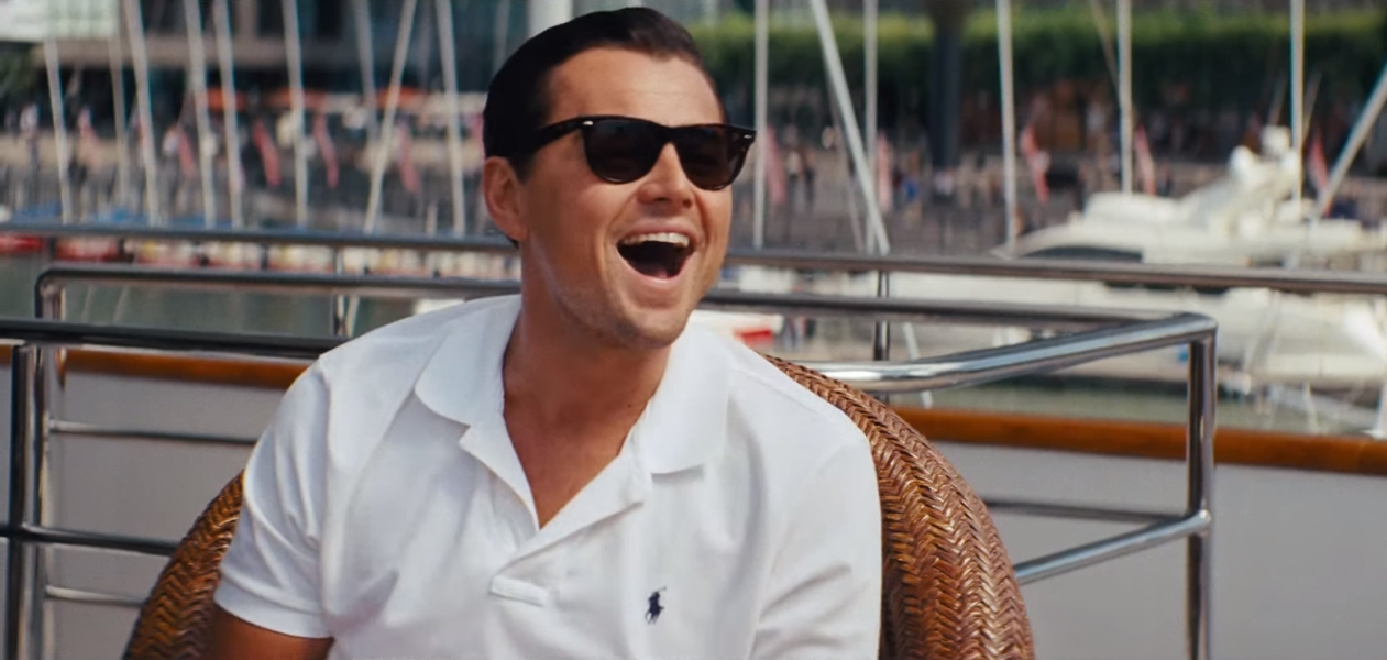 Zonnebril Leonardo DiCaprio in The Wolf of Wall Street (2013)