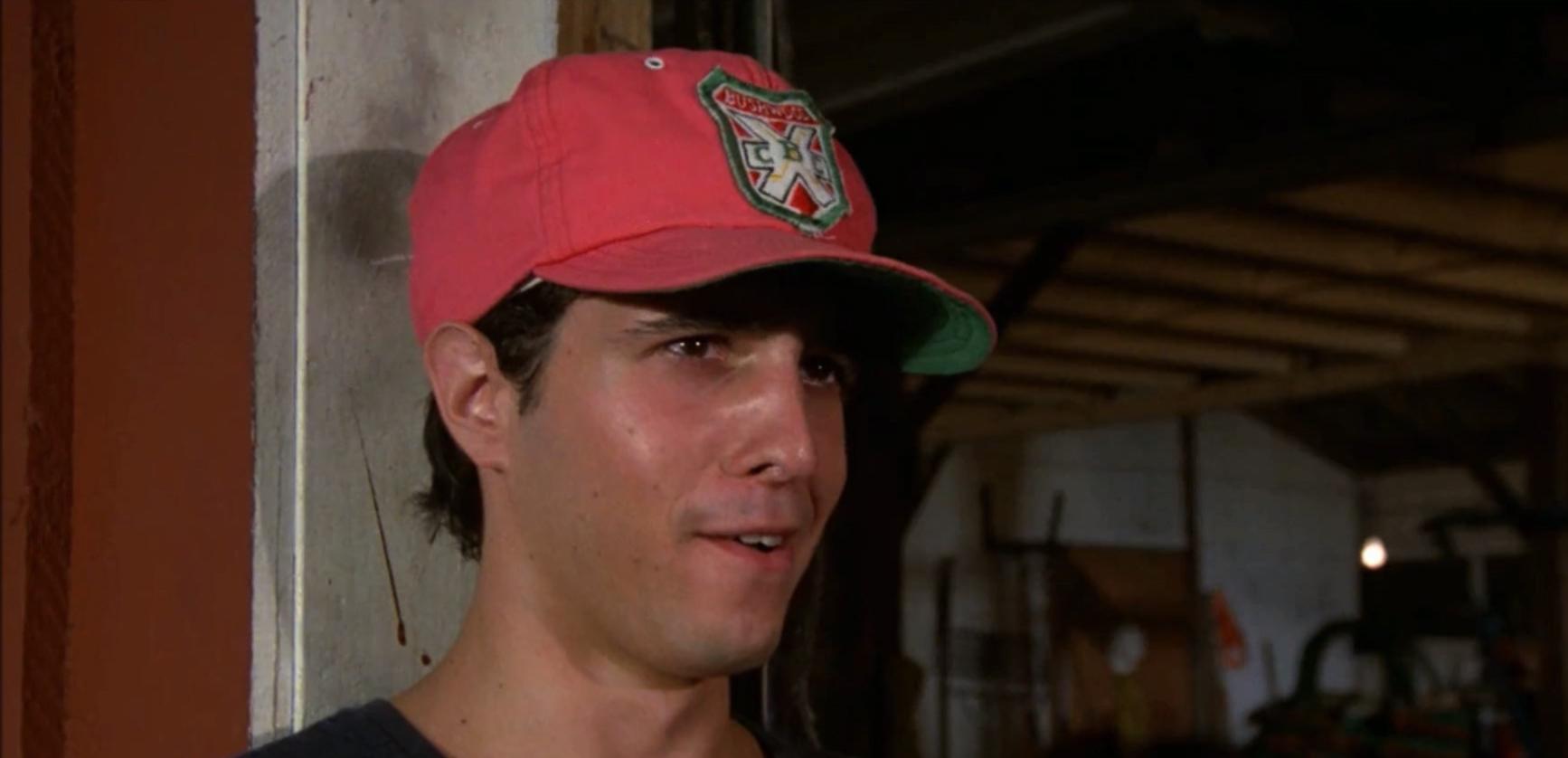 Rode baseball cap uit Caddyshack (1980)