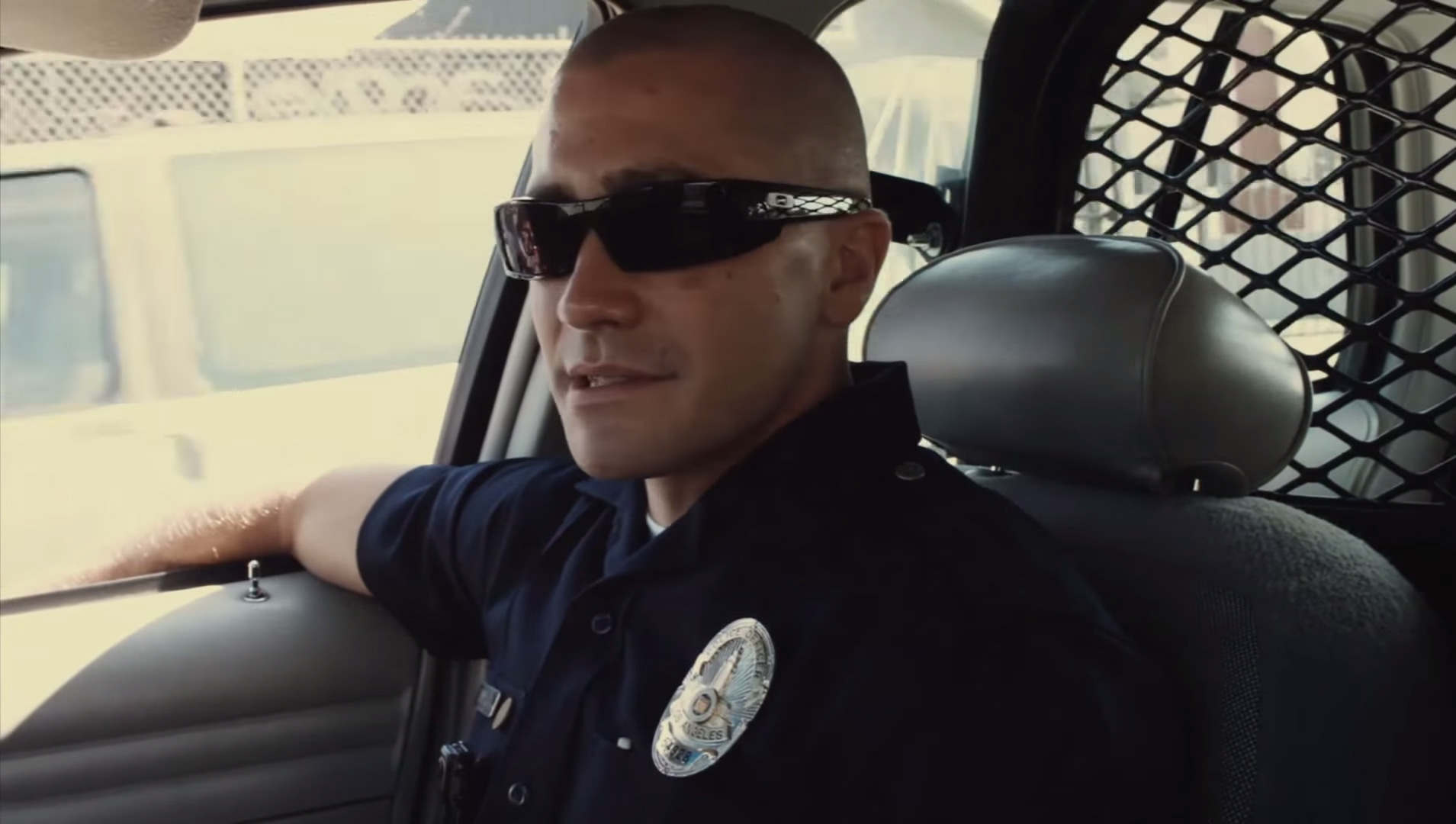 Zonnebril Jake Gyllenhaal in End of Watch (2012)