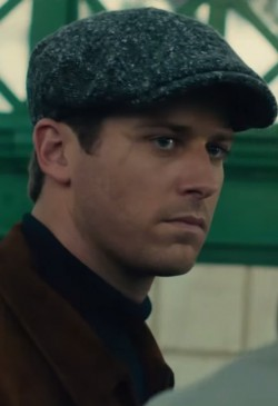 Hoed Armie Hammer in The Man from U.N.C.L.E. (2015)