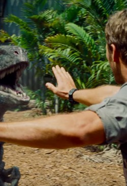 Horloge Chris Pratt in Jurrasic World (2015)