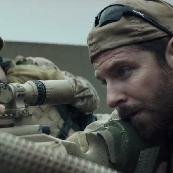 Zonnebril Bradley Cooper in American Sniper (2014)