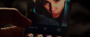 Justin Bieber's telefoon in Zoolander 2 (2016)