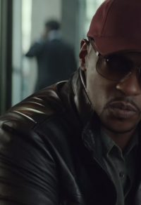 Bordeaux rode cap Anthony Mackie in Captain America: Civil War (2016)