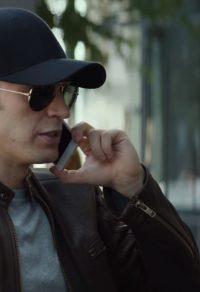 Zwarte Cap Chris Evans in Captain America: Civil War (2016)