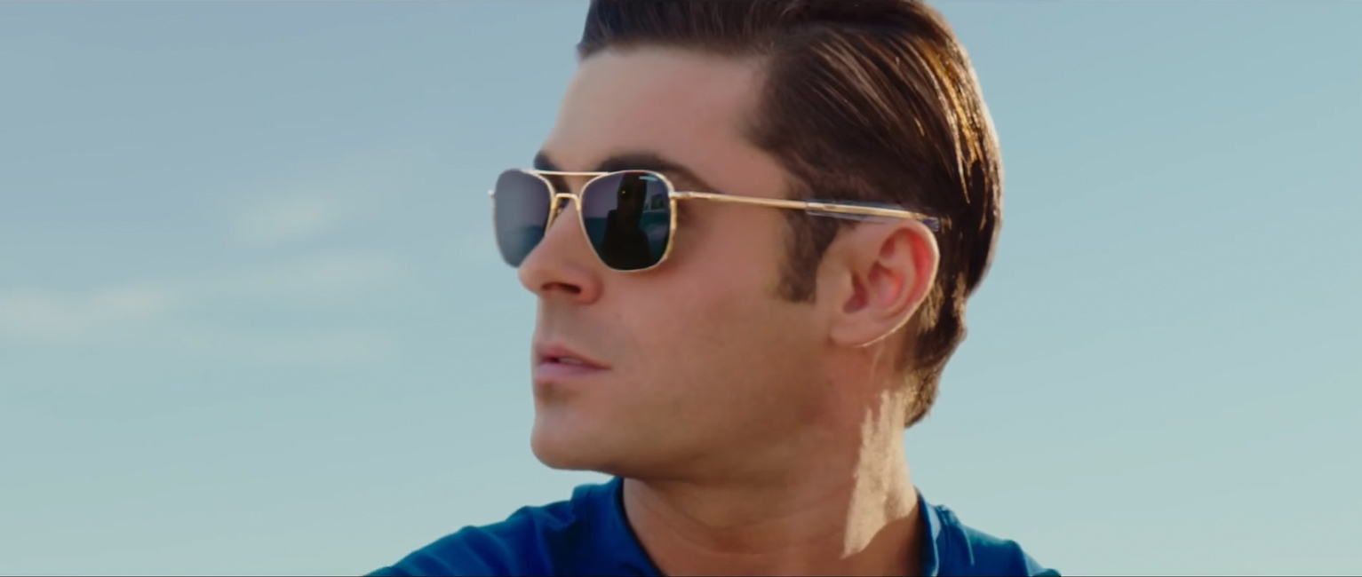 Zonnebril Zac Efron in Baywatch (2017)