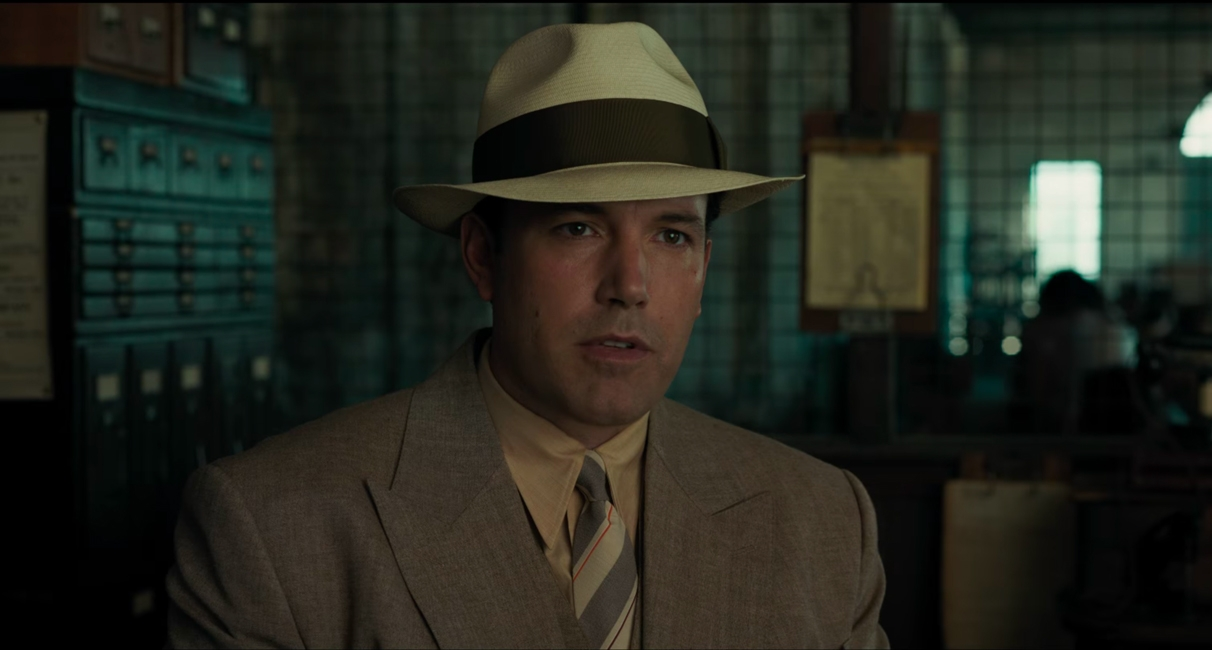Hoed Ben Affleck in Live by Night (2016)
