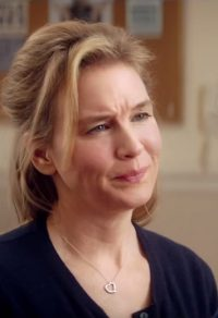 Open hartje ketting hangertje Renée Zellweger in Bridget Jones's Baby (2016).