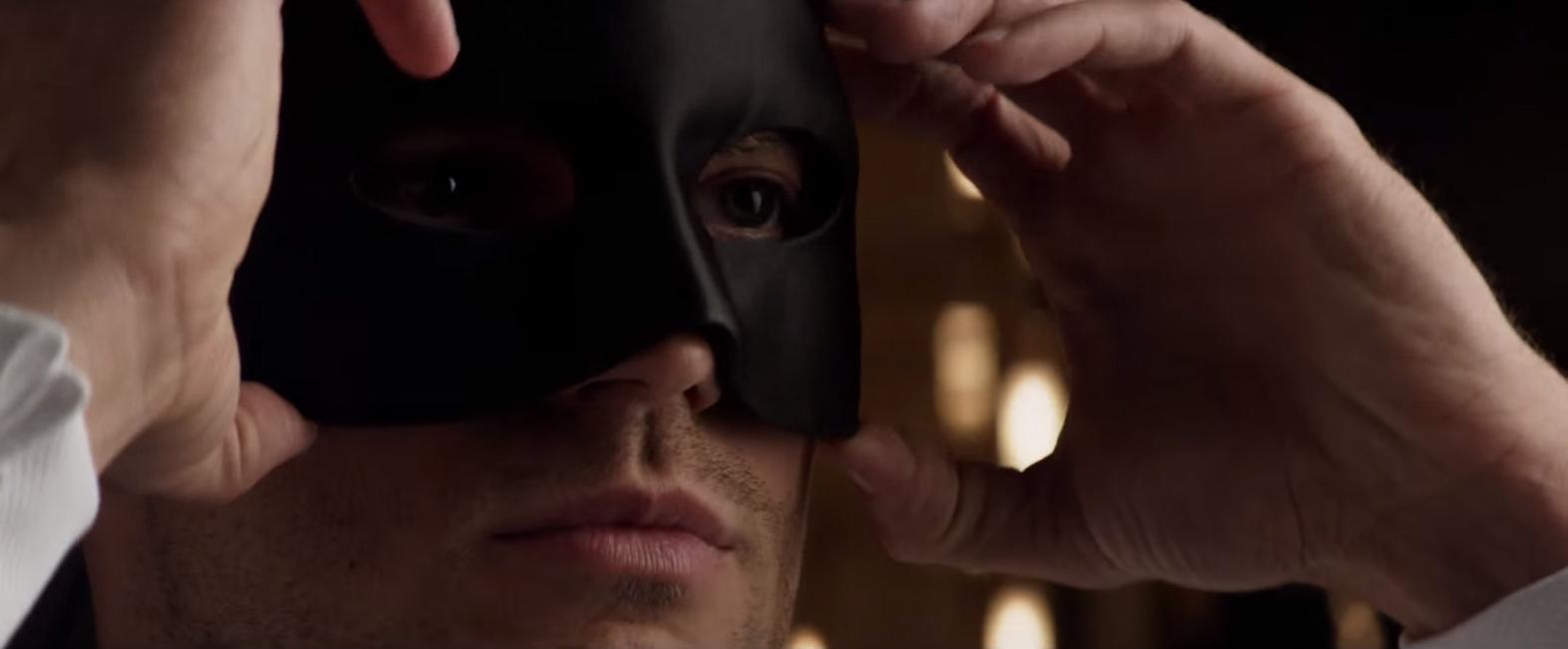 Masker Jamie Dornan in Fifty Shades Darker (2017)