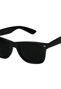 Zwarte zonnebril Ansel Elgort in Baby Driver (2017)
