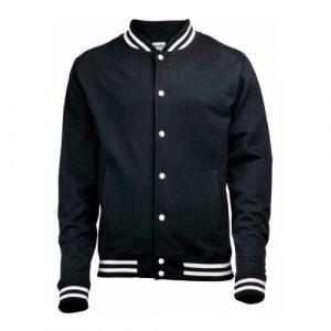 Zwart college jacket Aziz Ansari in Master of None