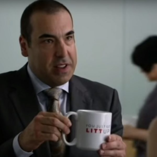 You Just Got Litt Up! mok Louis Litt in Suits