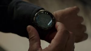 Zwart digitaal horloge Denzel Washington in The Equalizer 2 (2018)