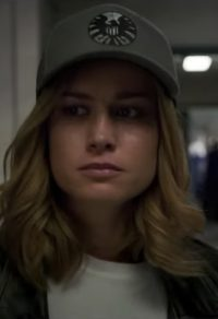 Baseball cap Brie Larson in Captain Marvel (2019)