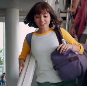 Baseball shirt Isabela Moner in Dora and the Lost City of Gold