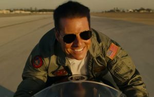 Zonnebril Tom Cruise in Top Gun: Maverick