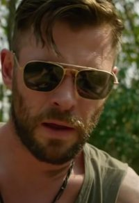 Zonnebril Chris Hemsworth in Extraction