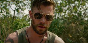 Zonnebril Chris Hemsworth in Extraction