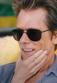 Zwarte zonnebril Kevin Bacon in You Should Have Left