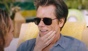 Zwarte zonnebril Kevin Bacon in You Should Have Left